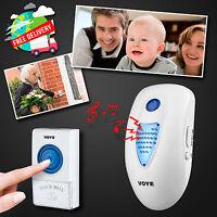 32 Melodies Chime Wireless Plug Doorbell 100M Range Cordless Portable Door Bell