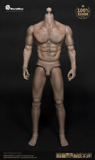 AT012 1/6 Scale Wide Shoulder Muscular Wolverine Strong Durable Body Man Figure
