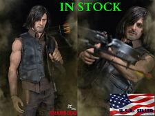 1/6 DARYL DIXON The Walking Dead Head Sculpt Figure Crossbow Full Set in stock