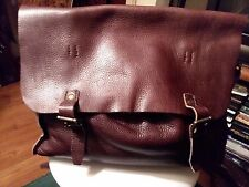 J. Crew large brown messenger bags only $175.00!