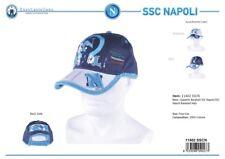 Cappello Uomo 100% cotone modello Baseball SSC NAPOLI BY ENZO CASTELLANO 11402