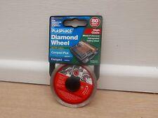 PLASPLUGS HGDW082 80MM HIGH GLAZE DIAMOND TILE CUTTING DISC PORCELAIN MARBLE ETC