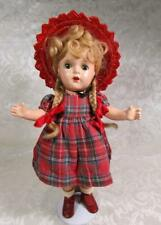 "Vintage Madame Alexander 13"" McGUFFEY ANA Composition Doll in Tagged Outfit"