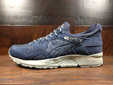 Asics GEL-LYTE V 5 (INDIA INK / NAVY) [H7P0L-5858] SUEDE Classic Running Mens