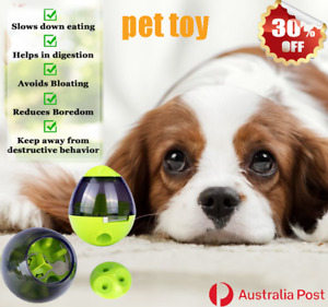 Pet Dog Toy Puppy IQ Test Treat Ball Interactive Puzzle Food Dispensing