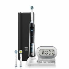 **NIB** Oral-B Black 7000 Rechargeable Electric Toothbrush - Bluetooth