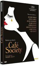 DVD *** CAFE SOCIETY *** de Woody Allen  ( neuf sous blister )