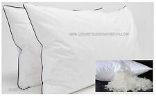 EXTRA FILLED DUCK FEATHER PILLOW LUXURY HOTEL QUALITY SOFT & COMFORTABLE