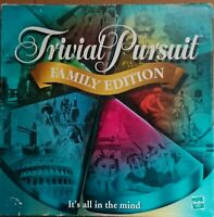 Hasbro Trivial Pursuit Board Game Family Edition (2001)