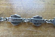 original beautiful Harley-Davidson Men's Bar & Shield Logo Sterling 925 Bracelet