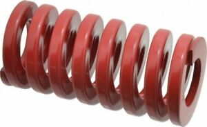 Heavy Load Duty Compression Die Spring Red - Various Sizes And Length Pressure