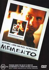 MEMENTO DVD R4 GUY PEARCE CARRIE ANNE MOSS ***