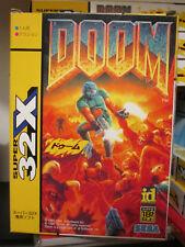 Doom 32X (1994) Brand New Factory Boxed Japan Sega Mega Drive 32X Import