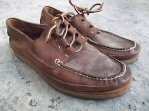 Frye Sully Mens Boat Docksider Shoes in Bordeaux - Size 10 m