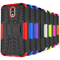 For Motorola MOTO G4 / MOTO G4 Plus Case Shockproof Armor Cover With Kickstand