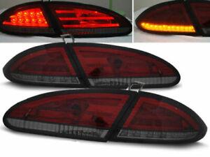 SEAT LEON 1P SMOKED LED TAIL LIGHTS 2009-2012 MODEL
