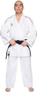 Hayashi WKF Approved Karate Kumite - Gi AIR DELUXE RED Embroidery SPE Ultralight