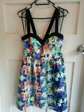 Forever New Women's Floral Fit & Flare Party Dress Size 10
