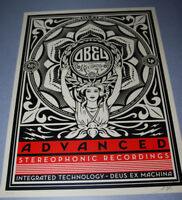 Lotus Woman 2013 Shepard Fairey Poster Obey Giant Screen Print Signed 450 art
