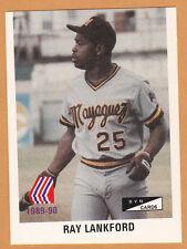 INDIOS DE MAYAGUEZ 1989-90 BB TEAM SET PUERTO RICO WITH RAY LANKFORD