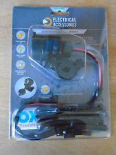 Oxford El101 12 Volt Motor Cycle Plug Socket New!