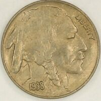 1938-D/S Buffalo Nickel. FS-511, Uncirculated. RAW3221/BH