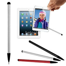 2in1 Universal Touch Screen Stylus Pen For iPhone iPad Samsung Tablet PhoneAC FR