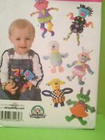 Simplicity Sewing Pattern 3516 Baby Toys Little Dolls One Size Carla Reiss Uncut