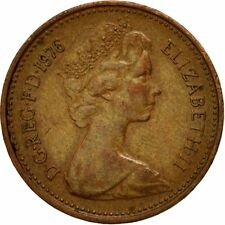[#542179] Coin, Great Britain, Elizabeth II, New Penny, 1976, VF(20-25), Bronze