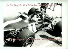 Jochen Rindt Lotus 69 Hockenkeim F2 1970 Rare Photograph