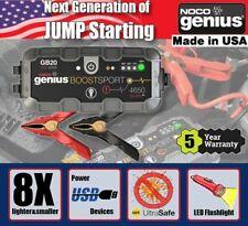 NOCO Genius Boost Sport GB20 12V 500A UltraSafe Lithium Jump Starter