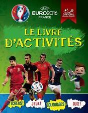 UEFA   Euro 2016 France   le livre d'activites Fullman  Joe Occasion Livre