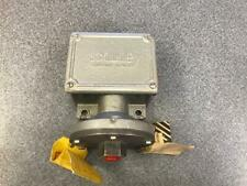 SOR Control Devices Pressure Switch 12NN-T45-C, Overrange 200, Proof 400