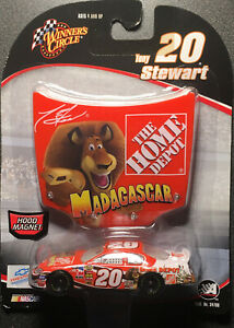 Winner's Circle Tony Stewar Home Depot Madagascar Car Hood NASCAR