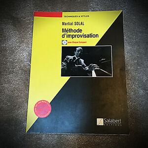 Méthode d' Improvisation - Martial Solal - Piano + Tuto audio