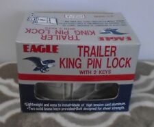 Eagle Trailer King Pin Lock With two Keys Brand New! Aluminum