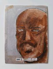 Topps The Walking Dead Season 7 Jeff Meuth Sketch Card
