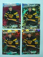 2017-18 Parkhurst Brad Marchand Boston Bruins Seeing Stars 4 Card Lot