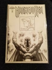 Authentix Magneto Rex 1 Sketch Cover 135/600 Signed