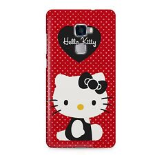 Hello Kitty Heart Red Polka Pattern Cute Cat Mobile Phone Case Cover