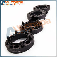 4pc 32mm Wheel Spacer Spacers | 6x139.7 Hubcentric 106mm Hub | 12x1.5 Studs