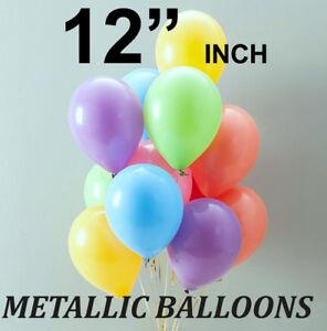 "12"" INCH HEAVY DUTY VERY LARGE LATEX BALLOONS PARTY BIRTHDAY WEDDING BALLOONS"