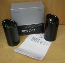 Genuine AUDI A1 & A3 ï BLACK CHROME EXHAUST TIP Trim DOPPIA
