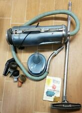 1950's Retro Electrolux Canister Vacuum Cleaner Model E COMPLETE Good Suction