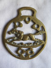 Horse Brass Galloppinging Horse Approx 1970s Excellent Detail