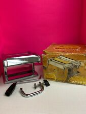 MARCATO Atlas Pasta Noodle Maker Machine Model 150 Made in Italy With Attachment