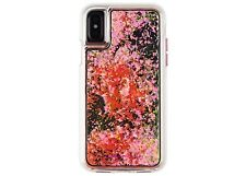 Case-Mate iPhone X Case Waterfall Glow in the dark - Pink - New