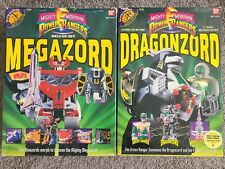 1993 Bandai Mighty Morphin Power Rangers DRAGONZORD & MEGAZORD
