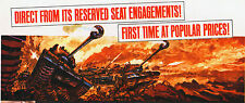 BATTLE OF THE BULGE orig rolled 1965 movie poster ARMORED TANKS/CHARLES BRONSON