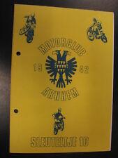 Programmaboekje Motorclub Arnhem Nat. Enduro Kekerdom (NL) 29 januari 1983